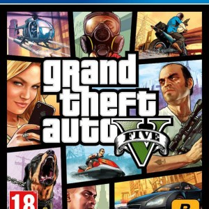 Videojuego Grand Theft Auto V para PlayStation 4