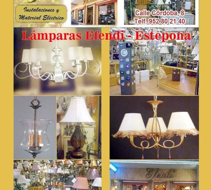 Lámparas EFENDI