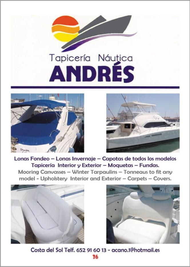 Tapicería Náutica ANDRÉS