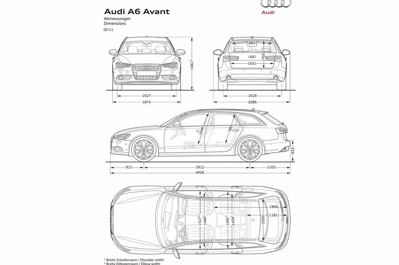 Photo Audi A6-Avant Interieur / Exterieur année: 2011