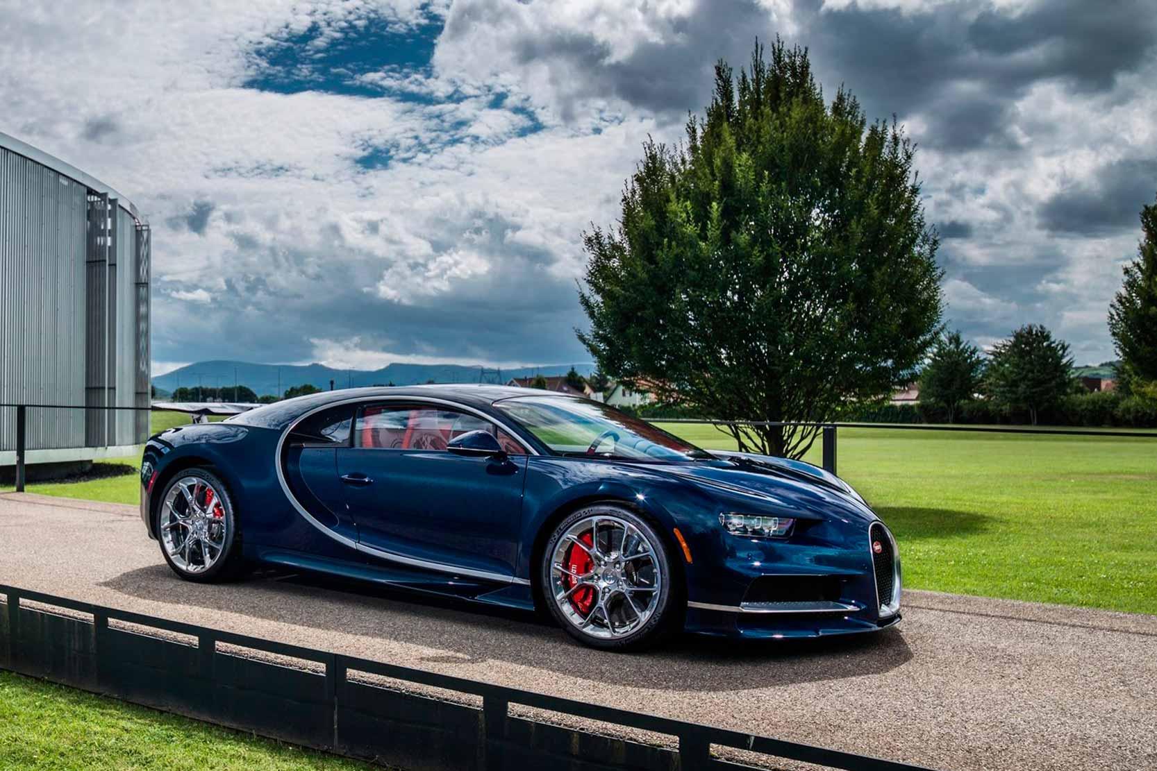 Fiche Technique Bugatti Chiron W16 2019