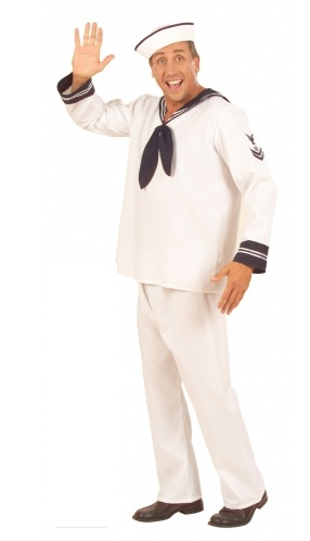 Sailor Boy Costume 5707  plus size gay sailor fancy dress