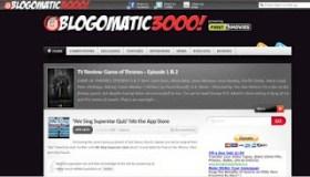 LAMB #901 – Blogomatic 3000