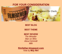 For Your Consideration: FilmFather