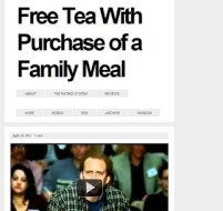 LAMB #914 – Free Tea with Purchase of a Family Meal