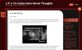 Brutally Blunt Blog Blustering #60: JP's I'm Outta Here Movie Thoughts: Seperating the Quality from the Crap