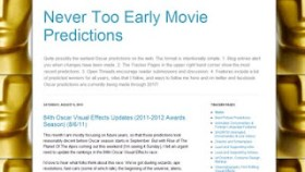 LAMB #1053 – Never Too Early Movie Predictions