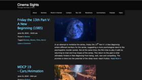 LAMB #599 – Cinema Sights