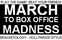 March to Box Office Madness 2010 Final Results