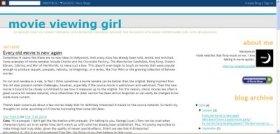 LAMB #198 – Movie Viewing Girl