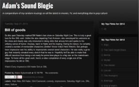 LAMB #1557 – Adam's Sound Blogic