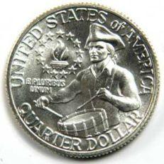 25-Cents---Quarter-Dollar-Washington---Bicentennial