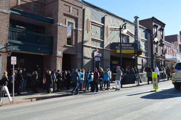 Egyptian Theater Sundance 2014