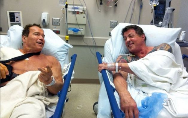 Stallone Schwarzenegger