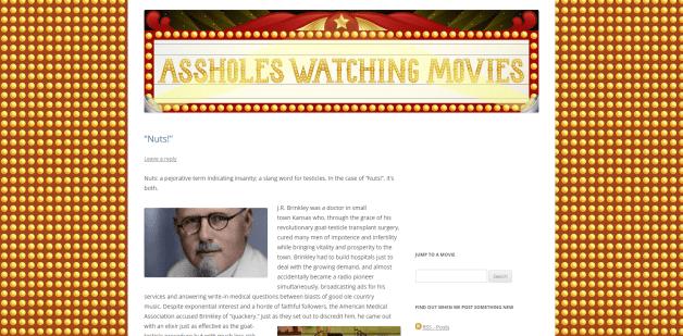 #1814 Assholes Watching Movies