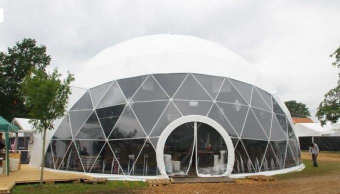 Event  Expedition Dome Tent 25m Diameter With Aluminium Door