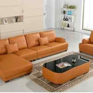 Sandy 5 Seater Sectional Sofa Series Ottoman