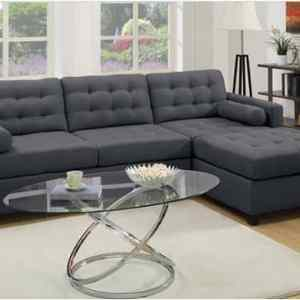 Sally's 5 Seater Sectiona Tuftedl Sofa