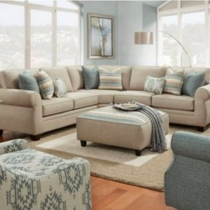 Abby's (3,2,1,1) Sectional Sofa Series