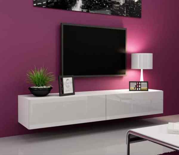 TV Entertainment Unit 11 (180cm by 40cm by H 43cm)