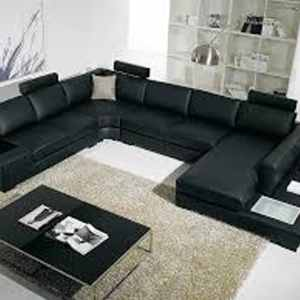 Trinity Series 9 Seater Sectional Leather Sofa (Living Room)