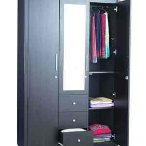 Wardrobe Series 006- 3 Door 150 Cm by 62cm by 220cm