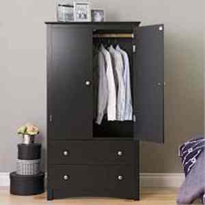 Wardrobe Series 009 – 2 Door 100 Cm by 62cm by H220cmH220cm
