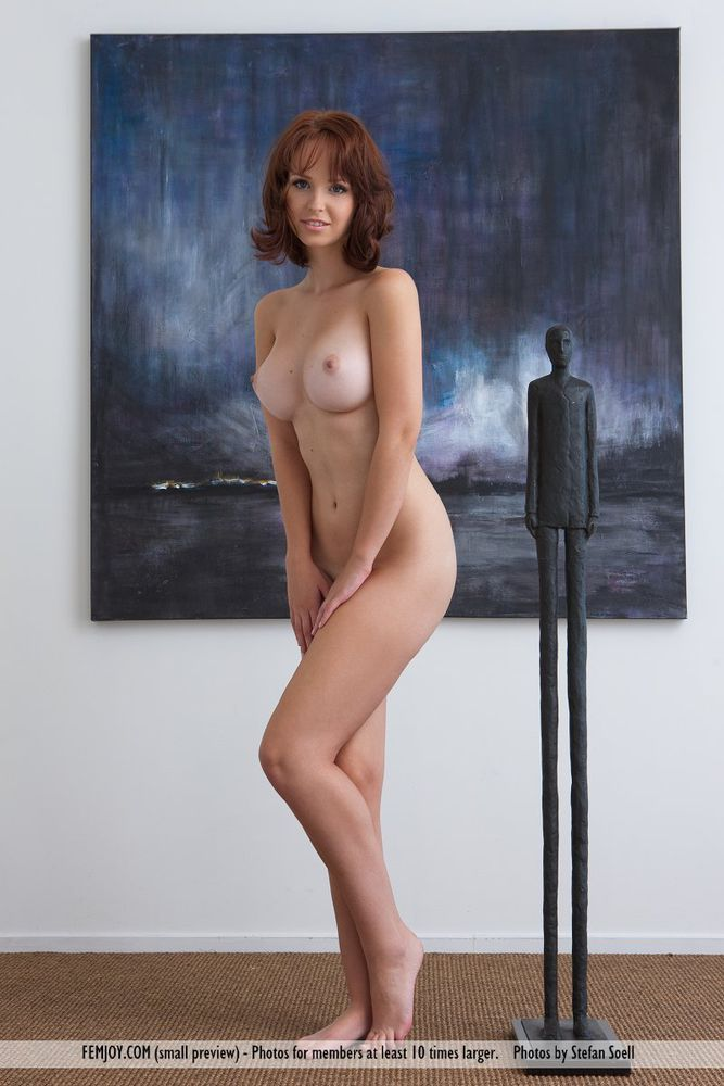 By Art A Large Boobs Beauty Poses Nude from LargeNudeBoobscom