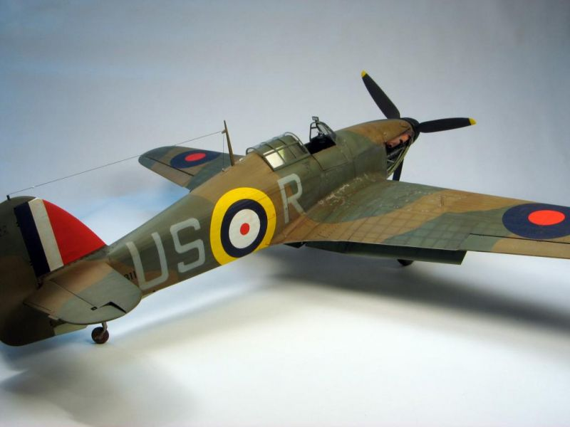 Trumpeter 1 24 Hurricane Large Scale Planes