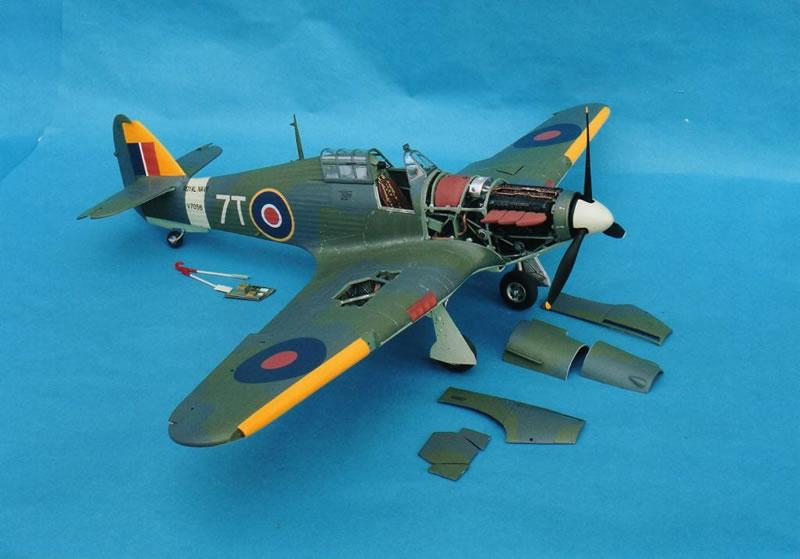 A 1 24th Scale Sea Hurricane Mk Ib Large Scale Planes