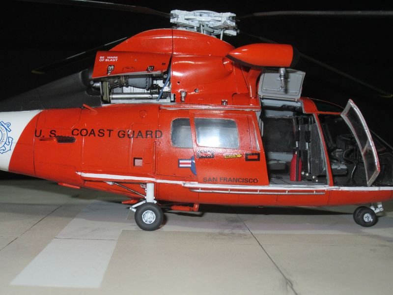 Trumpeter 1 35 Uscg Hh 65c Large Scale Planes