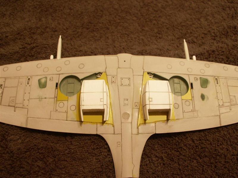 HasegawaRevell 132 Spitfire Mk XIV Kitbash  Large Scale