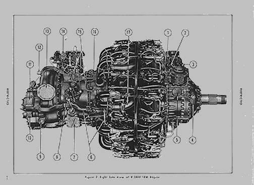 Teknics TK32018: 1/32 Pratt & Whitney R-2800 Engine