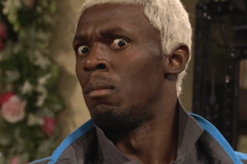 Usain Bolt on Saturday Night Live