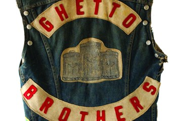 Ghetto Brothers Vest back
