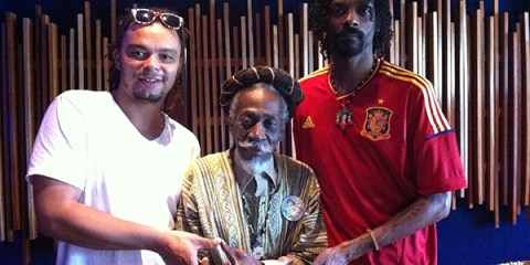 Bunny Wailer and Snoop Lion