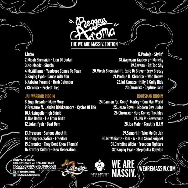 Reggae Aroma MASSIV Edition back-
