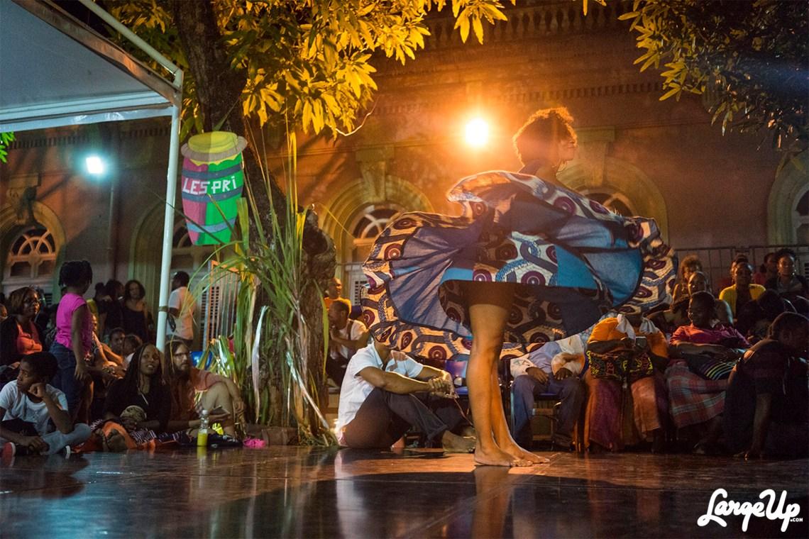 Bèlè Dancer at Espace Camille Darsière , Fort-de-France, Martinique photo by Adama Delphine Fawundu3