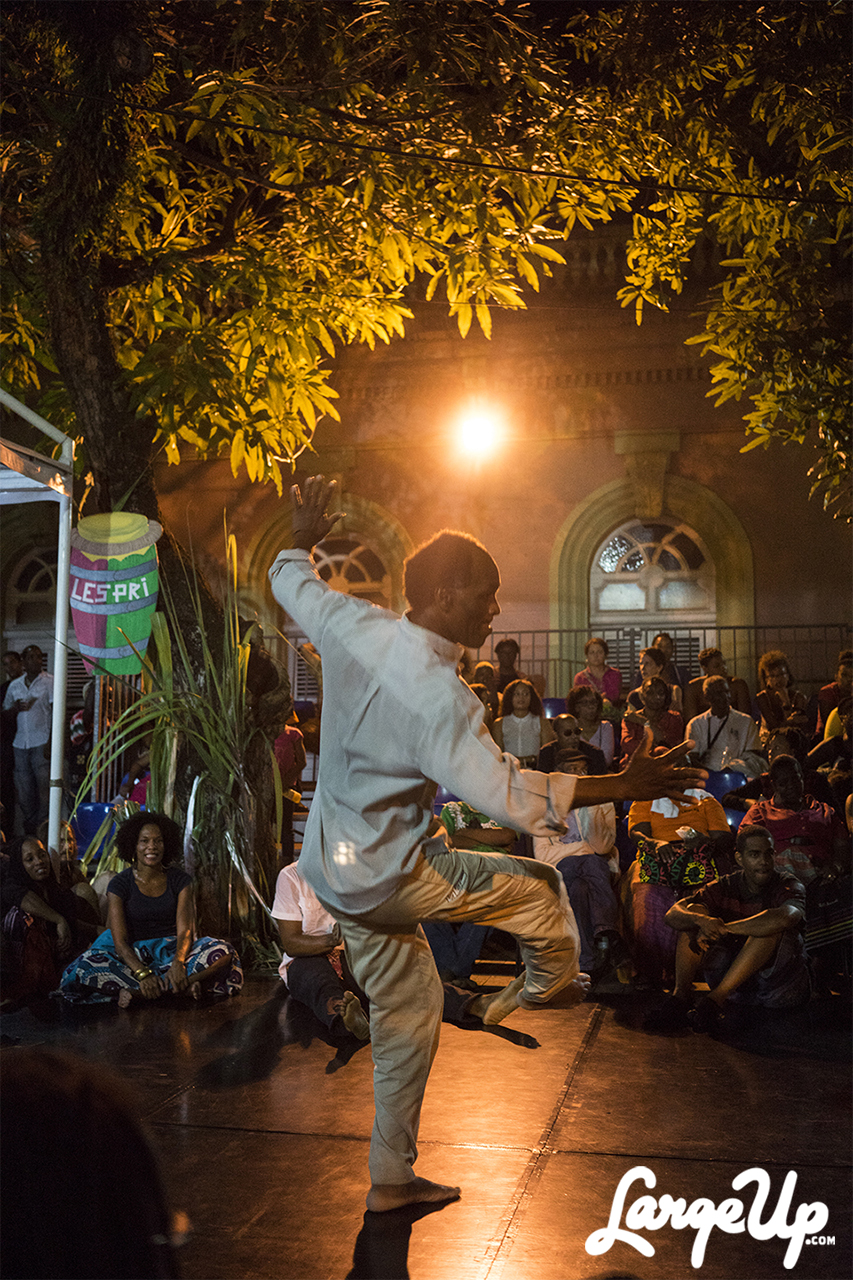 Dancing with the light, Bèlè Dancer at Espace Camille Darsière, Fort-de-France, Martinique photo by Adama Delphine Fawundu1