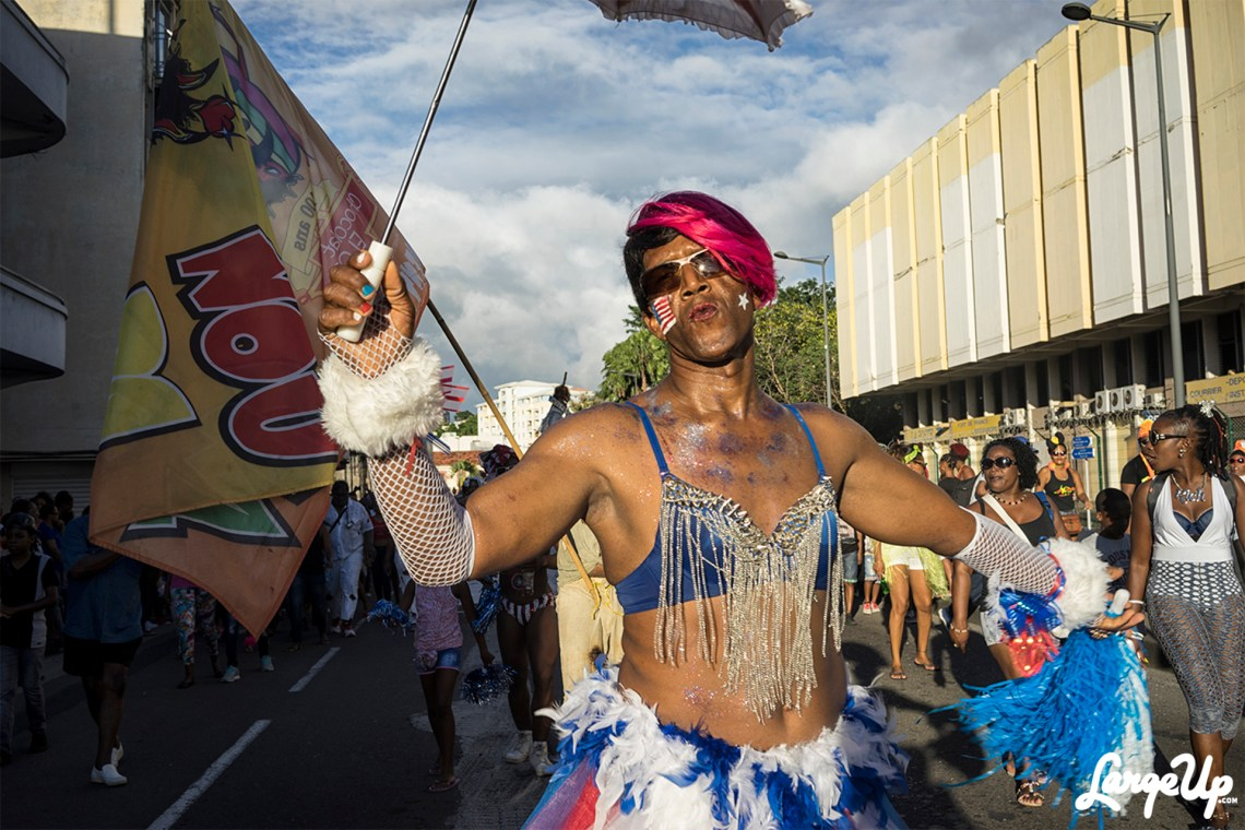Red, White and Blue, FOYAL PARADE, Fort-de-France, Martinique, photo by Adama Delphine Fawundu7