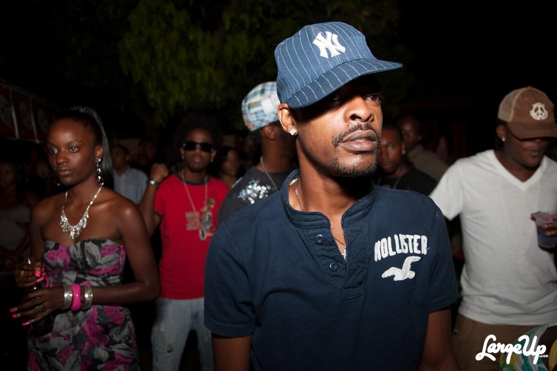 Dancehall star Mr Lexx in Kingston, Jamaica