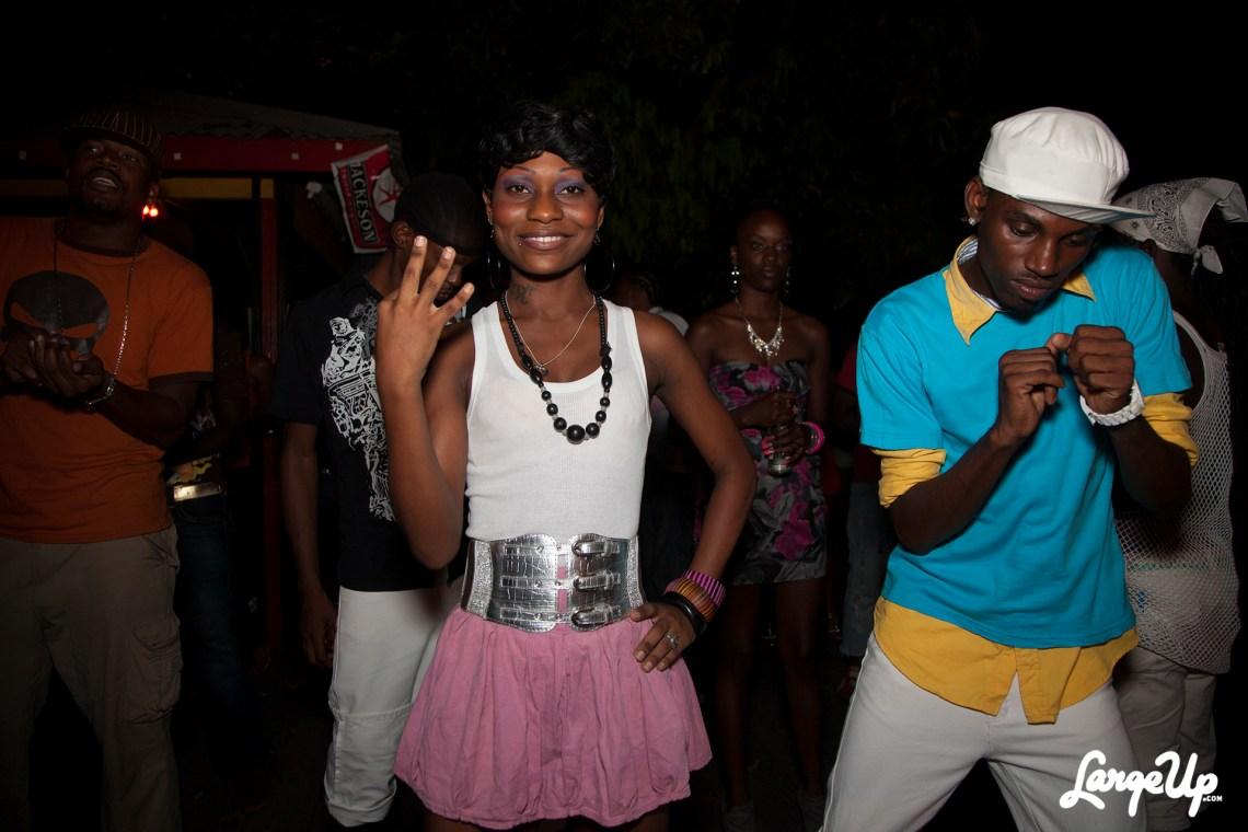 At a bashment in Kingston, Jamaica. Photo: Martei Korley