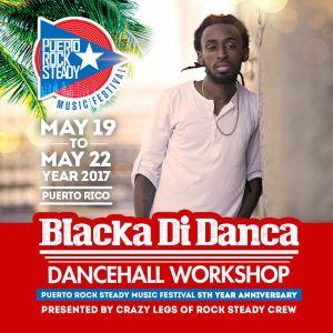 Blacka's World: Bringing Dancehall to Puerto Rico at Puerto Rock Steady