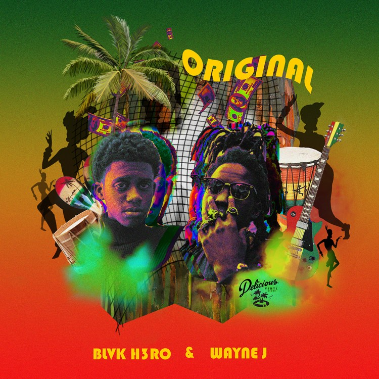 "BLVK H3RO x Wayne J connect on new single. ""Original"""