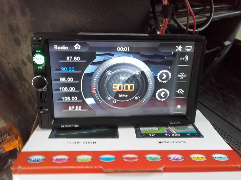 montage autoradio gps camera de recul