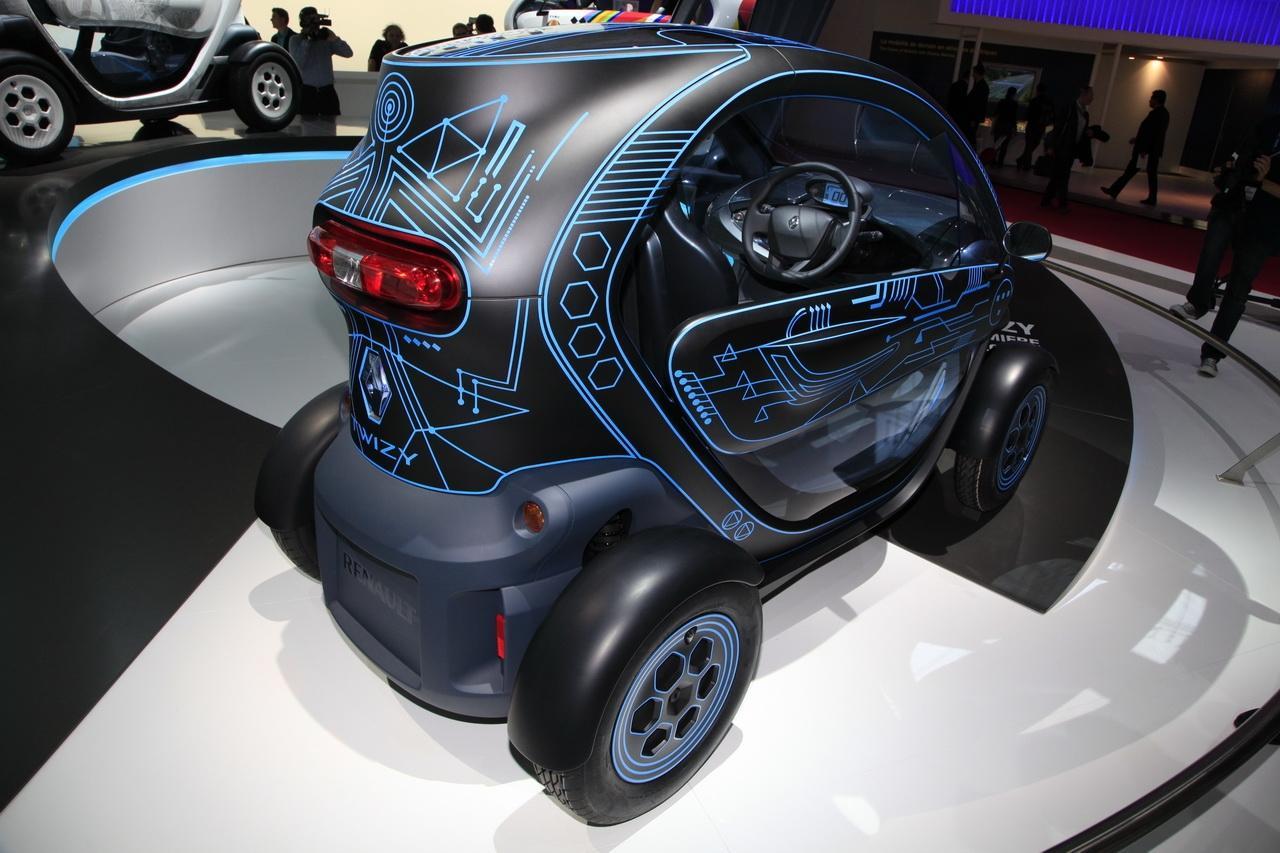 Renault Twizy ZE Concept  Entre deux mondes  Salon de lauto 2010