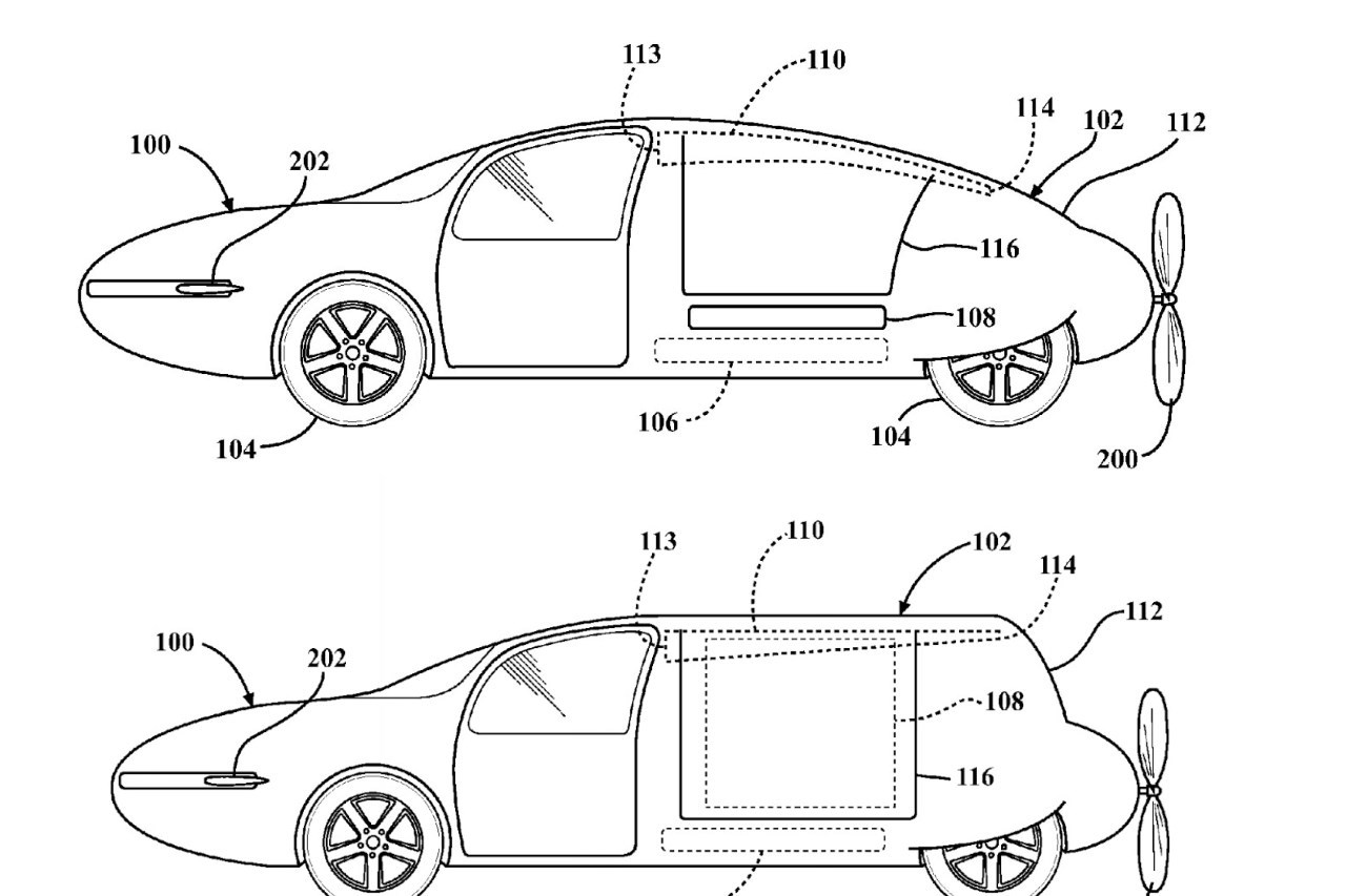 Toyota S Interesse De Pres A La Voiture Volante