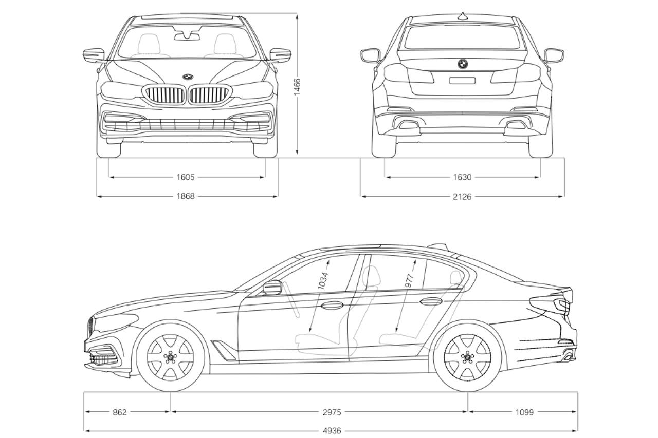 Nouvelle BMW Série 5 (2017) : premières photos et infos