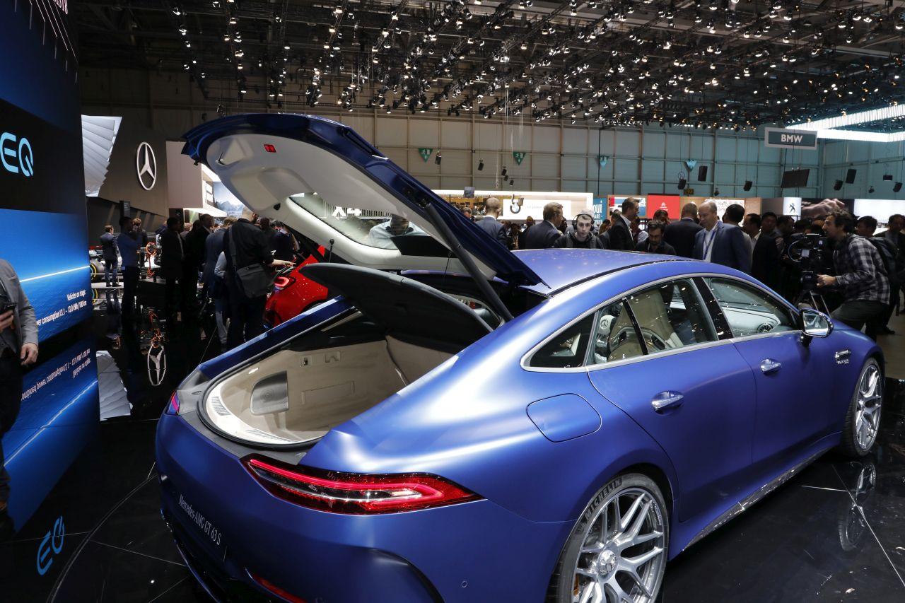 Mercedes AMG GT 4 Portes Les Secrets De La Nouvelle AMG
