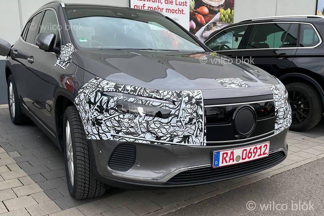Mercedes EQA (2021). Le SUV compact électrique dévoilé début 2021 - Photo #6 - L'argus